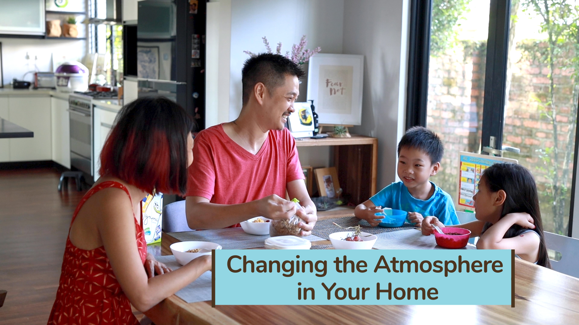 Changing the Atmosphere in Your Home